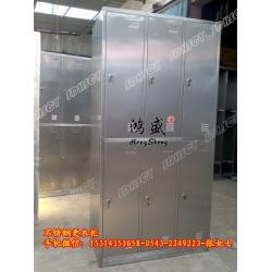 精品六门更衣柜 分上下格更衣柜 专业定做不锈钢更衣柜